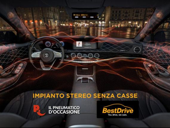 impianto stereo auto senza casse